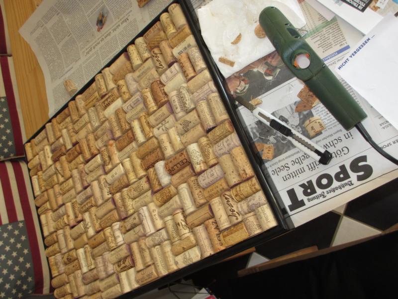 Beliebt DIY - weinkorken-pinnwand | wohn-blogger ZC04