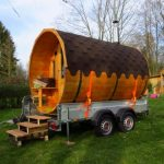 Die mobile Faßsauna – definitiv ein cooles DIY Projekt
