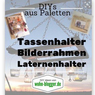 Paletten DIYs