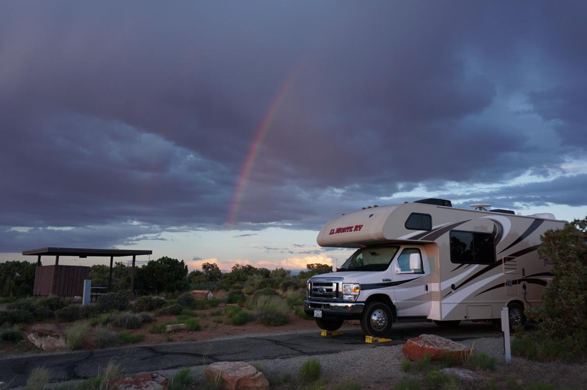 Regenbogen Wohnmobil