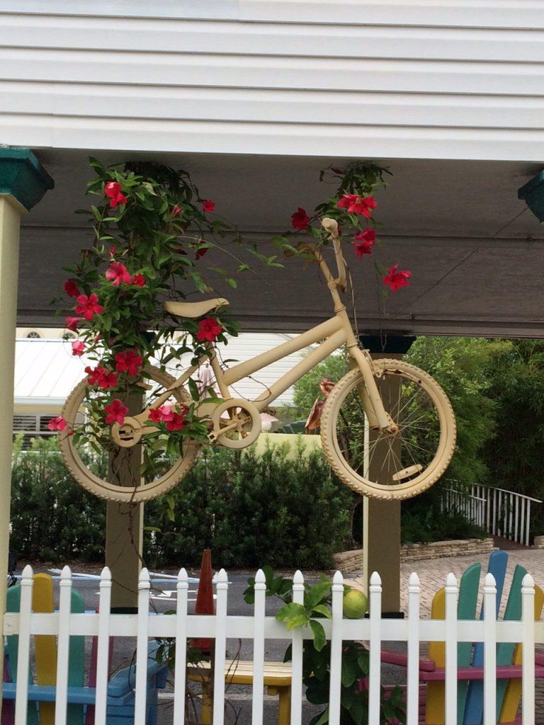 Fahrrad-Deko