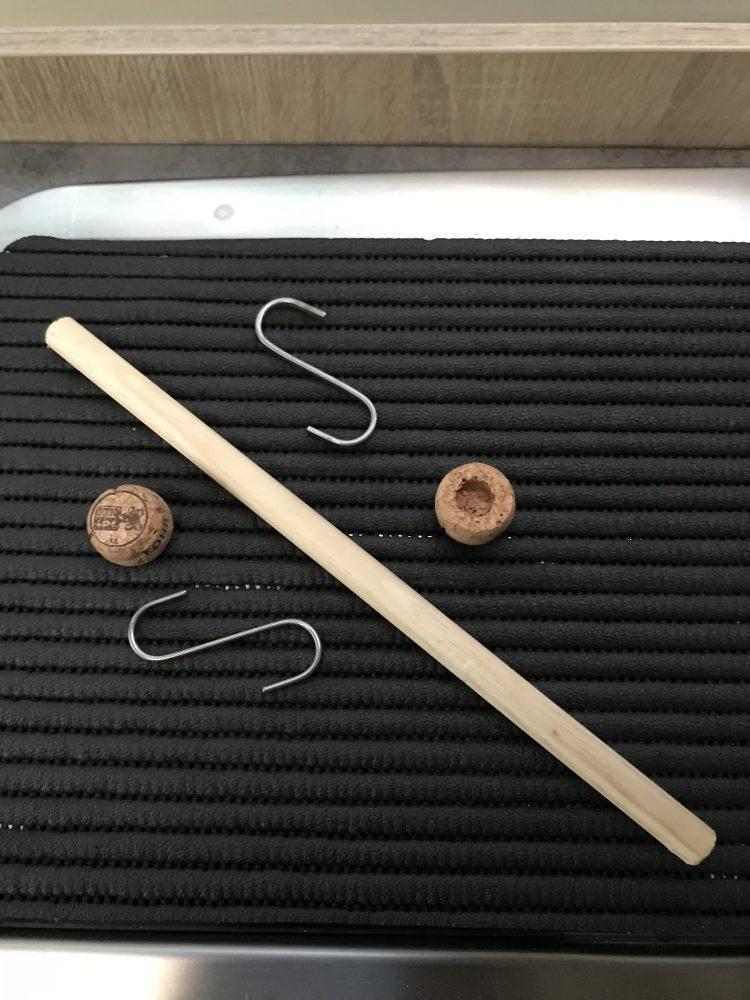 Küchenrollenhalter Material