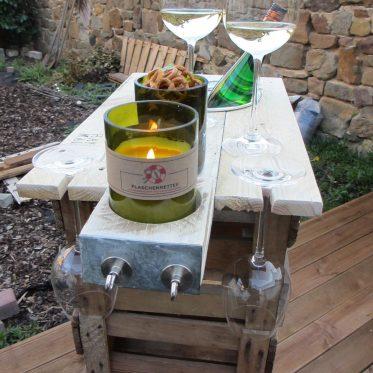 Theke aus Weinkiste bauen