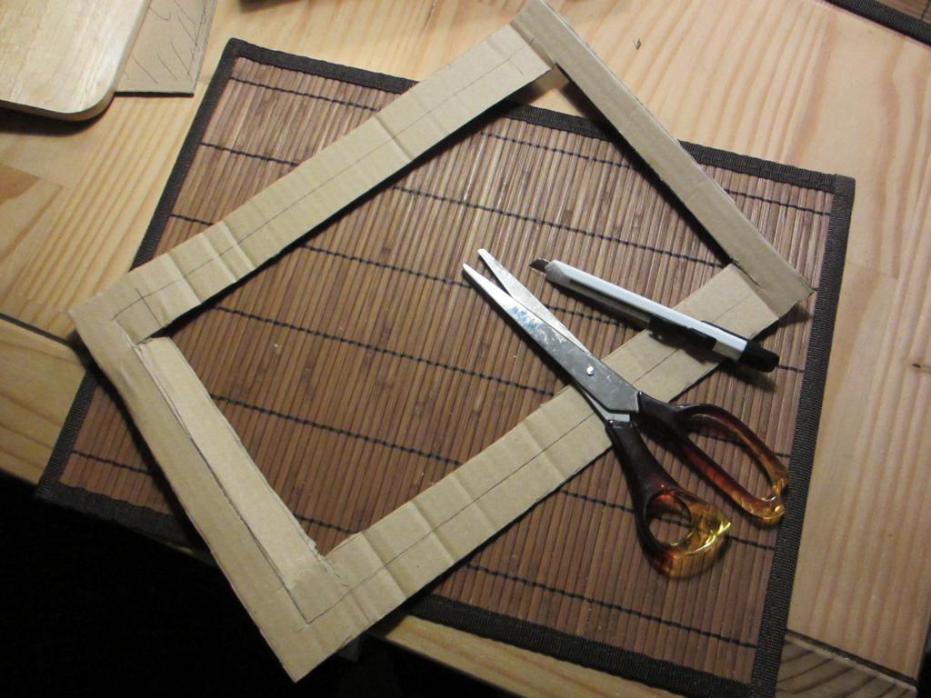 Ein Leinwandbild, 3 Rahmen! DIY Tutorials für Beton-, Korken- und ...