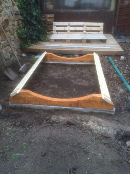 Fundament Saunafaß
