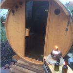 Unsere Fass-Sauna – Erste Sauna-Session und Kostenaufstellung