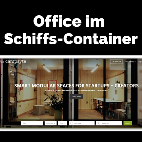 Schiffs-Container