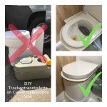 DIY Trenntoilette im Clever Kastenwagen anteasern / TLF#19