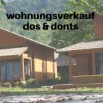 Wohnungsverkauf: Dos & Dont´s