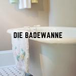 Die Badewanne als Designelement