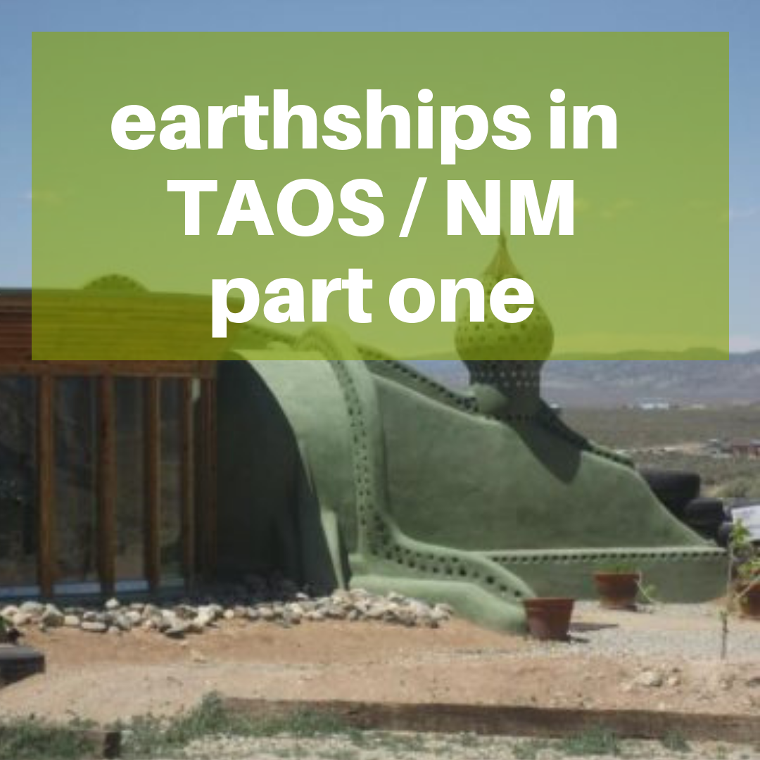 earthships new Mexico