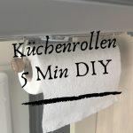 Küchenrollenhalter-5 Min DIY für den Camper