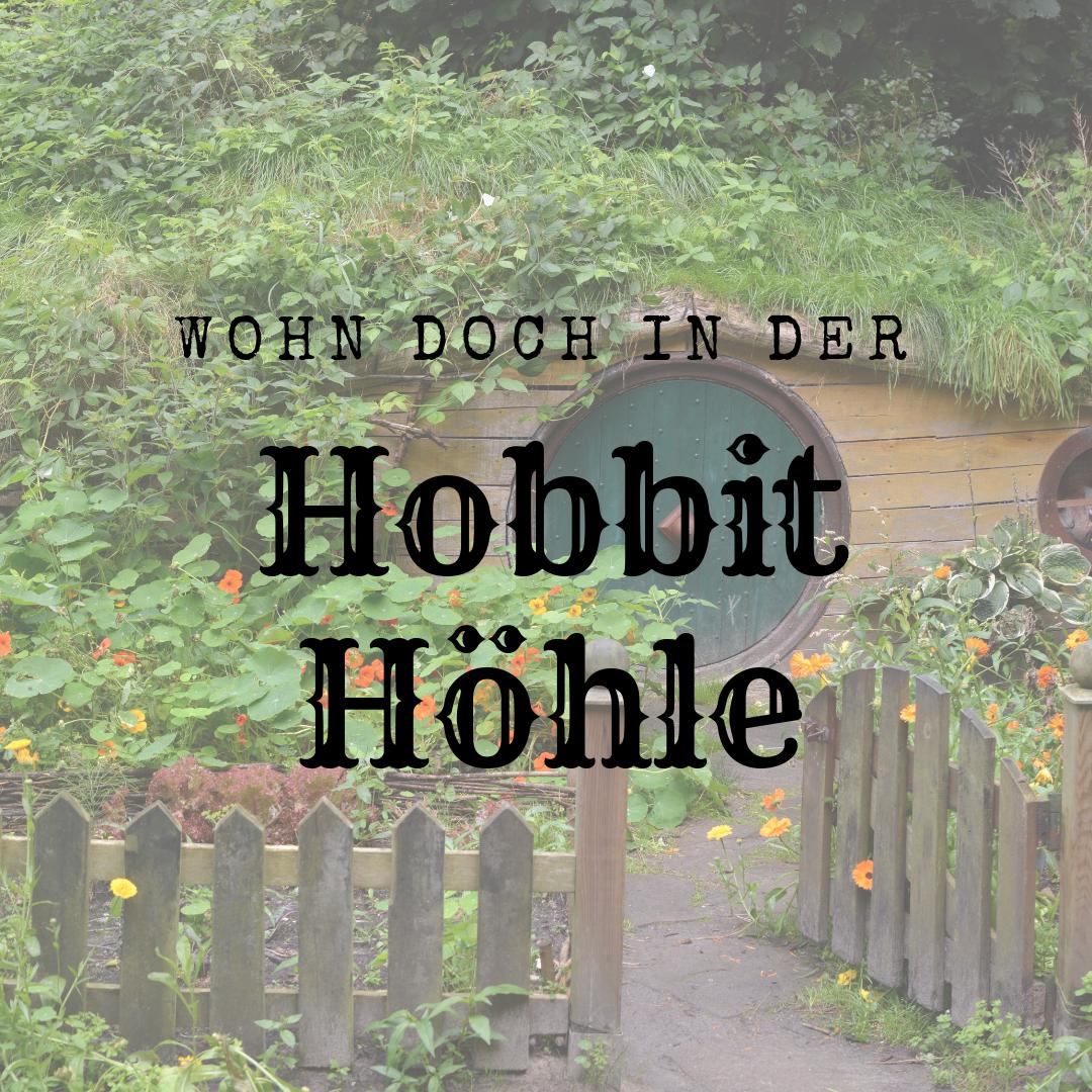 hobbit höhle bauen