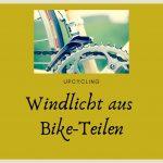 upcycling – windlicht für biker