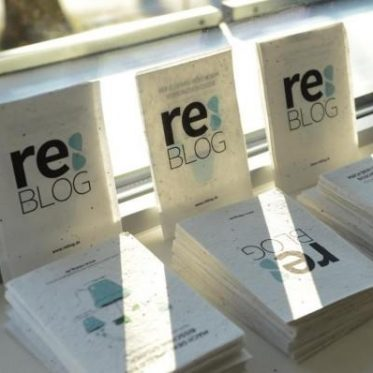 reblog postkarte mit samen