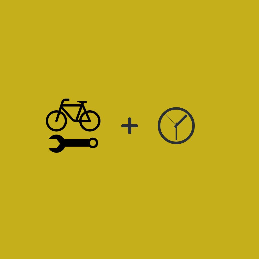 Fahrrad Uhr