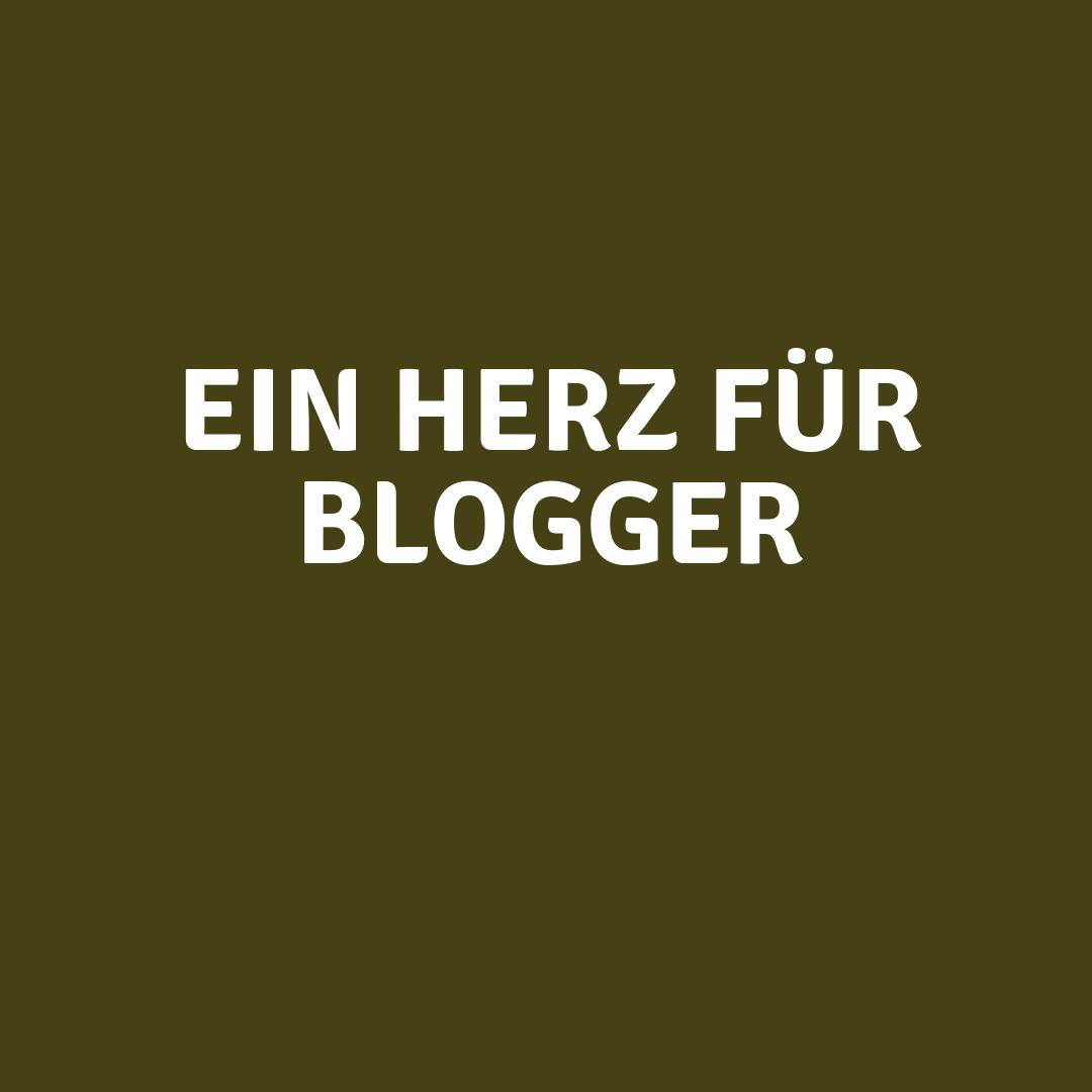 Ein herz für blogger