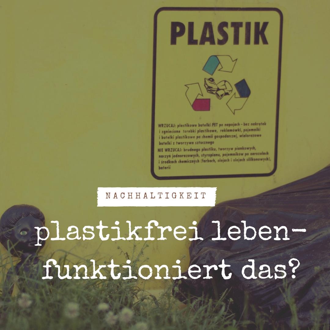 plastikfrei leben