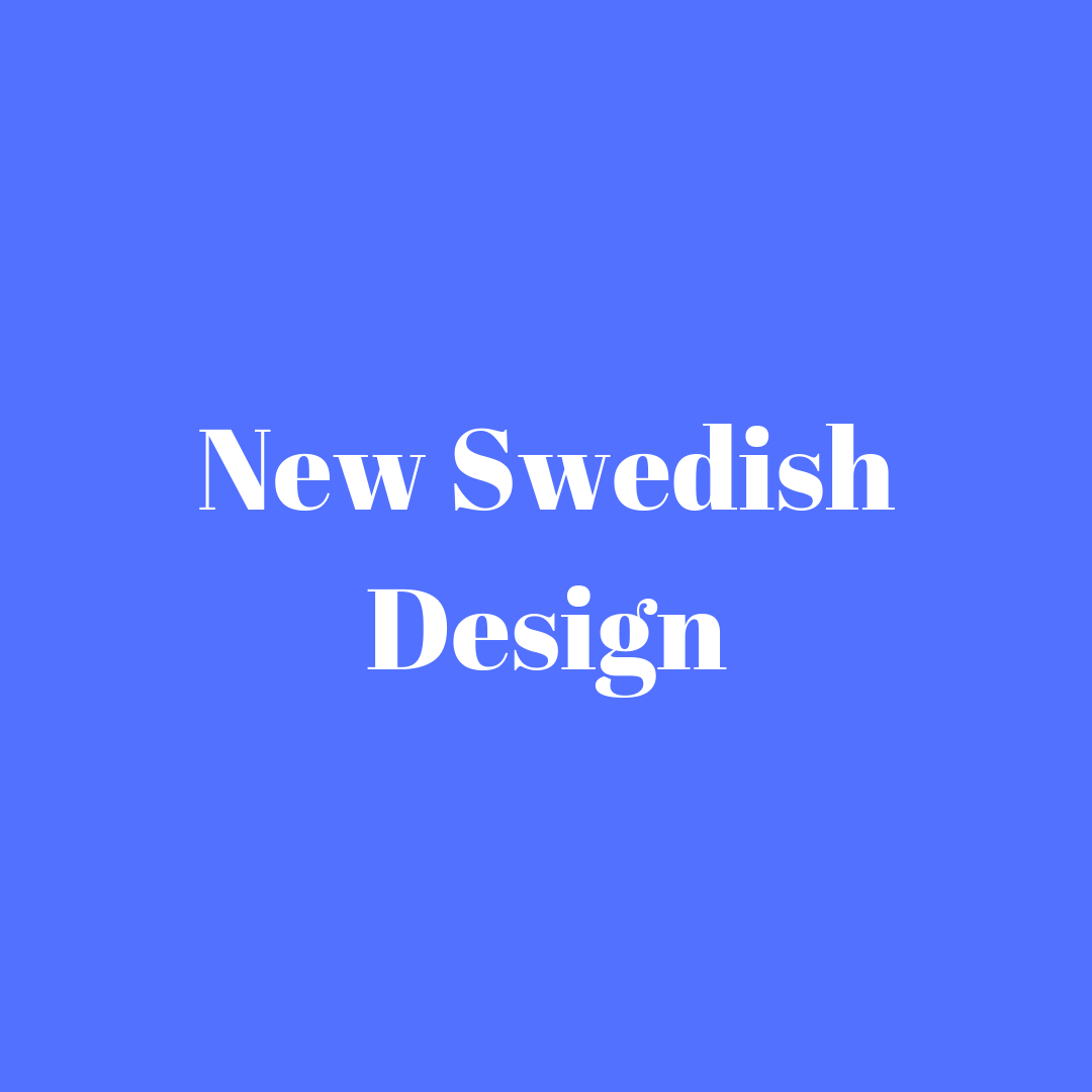 New Swedish Design