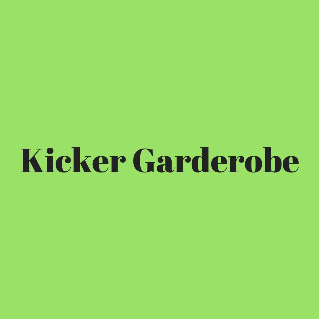 Kicker Garderobe