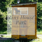Tiny House Park – Probewohnen in kleinen Häusern