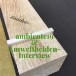 #Ambiente19 und ein Umwelthelden-Radio-Interview mit Sig