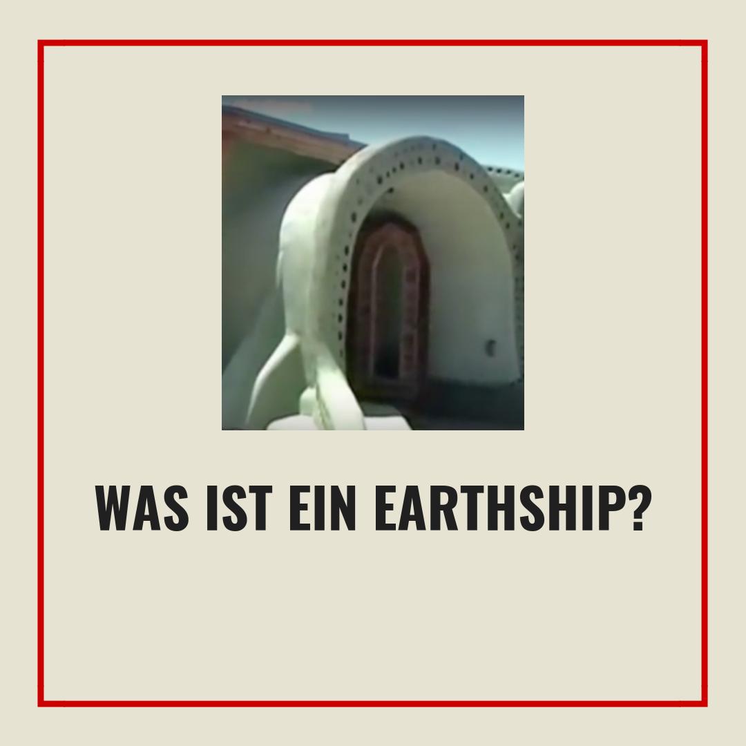 was ist ein earthship